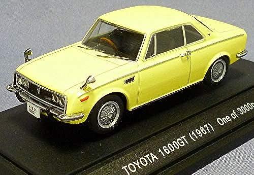 EBBRO 1 43 Toyota 1600GT 5 1967 Gelb