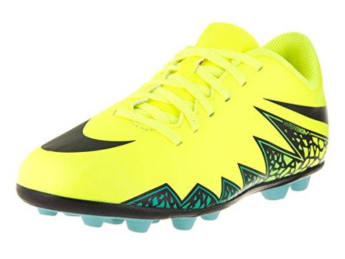 Nike Scarpa da Calcio Jr Hypervenom Phada II Fg-R Giallo/Nero EU 36.5 (US 4.5Y)