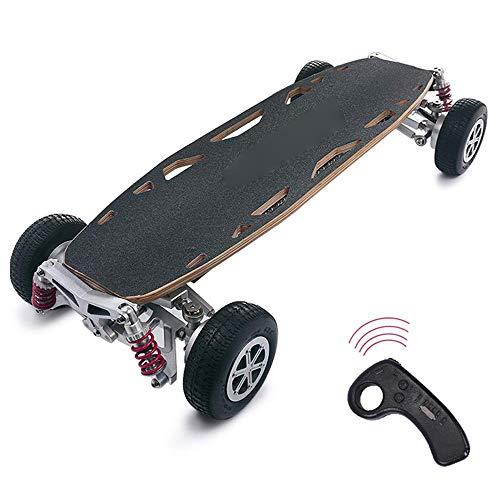 J&Z Elektro-Scooter für Erwachsene, Off-Road Dual-Drive/Allradantrieb Breitband-Skateboard Wireless Remote Control Scooters 37,4 '' * 16.5 '' * 7.1 '',25~30km