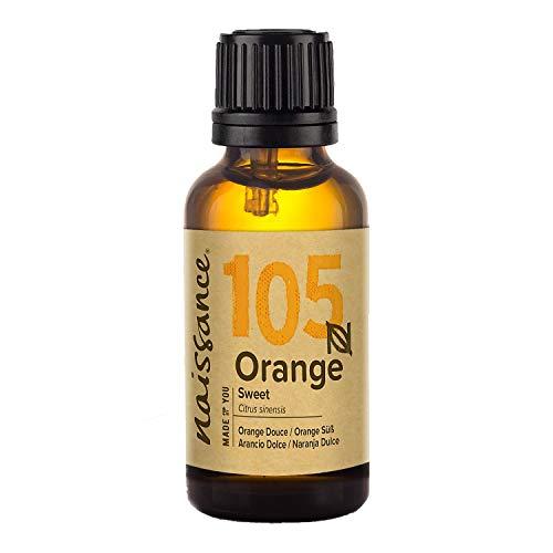 Aceite Esencial de NARANJA Dulce 30ml - 100% puro, vegano y no OGM