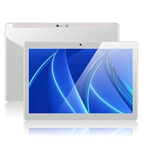 Tablet 10 Zoll Android Tablet PC mit Dual Simkarten Slot PADGENE 1280x800 Quad Core CPU Google Tablet PC Dual Kamera WiFi/3G Bluetooth GPS Telefonfunktion(10.1