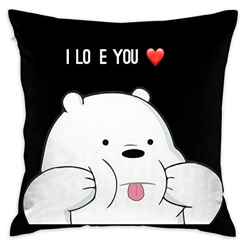 65 PPCC We Bare Bears Decorative Reading Pillow Covers Case