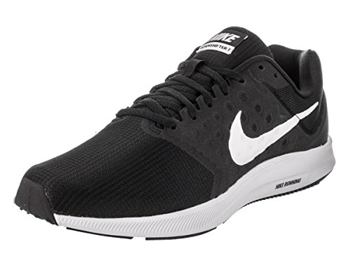 Nike Herren Downshifter 7 Laufschuhe, Mehrfarbig (Black/white), 44.5 EU