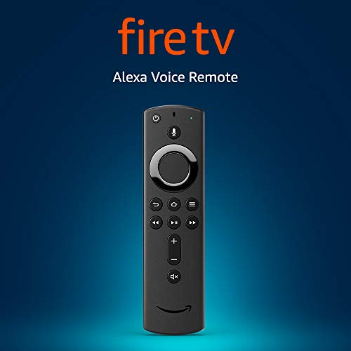 All-New Alexa Voice Remote for Fire TV, with Power and Volume Controls – requires compatible Fire TV device
