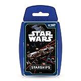 Top Trumps Star Wars Starships Juego de Cartas