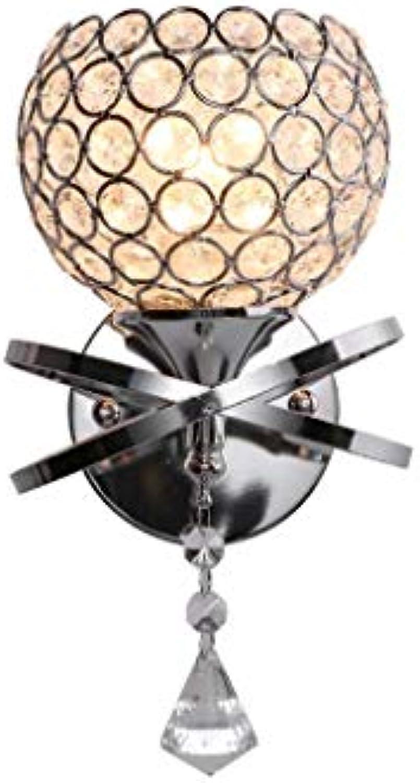 Kristallwandlampe, Einfache Moderne Kreative Kunstgangwand-Dekorationslampe Des Schlafzimmerraumwand-Restaurants