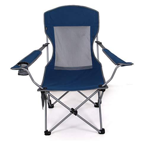 Hh001 Outdoor Tragbare Klappstuhl Angeln Stuhl Strand Stuhl Verstellbare Hochstuhl Sitz Sitzen Dual-use Freizeit Mittagspause (Color : B)