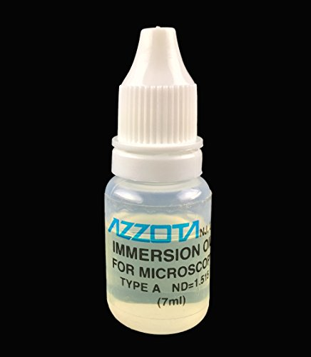 Azzota Immersion Oil For Microscopes, Type A - 7ml