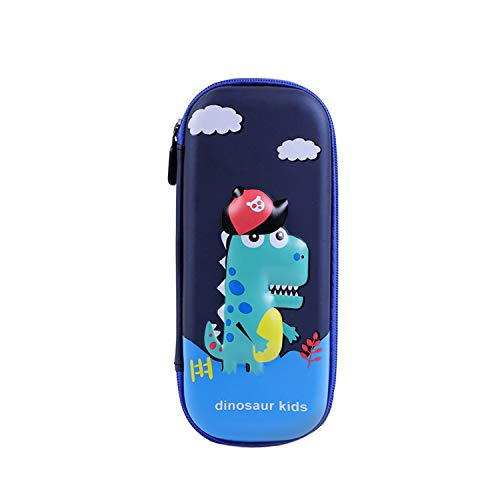 Estuche infantil dinosaurio Pen Bag Pencil Case Gran Capacidad Escolar Creativa de Gran Capacidad Cartera Bolsa de Cosméticos Conveniente para niños y niñas