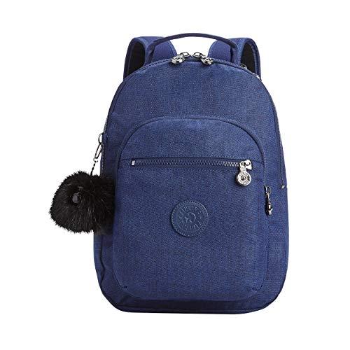 Kipling Leisure Backpack CLAS Seoul S Basic Plus Sintético 10 Litro 34,5 x 26 x 13 cm (H/B/T) Mujer Mochilas (KI2642)