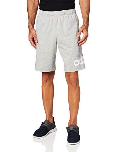 adidas Men's Athletics Jersey Shorts, Medium Grey Heather, X-Large