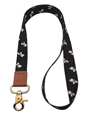 Neck Lanyard Key Chain Premium Quality Necklet Strap Holder,for Badge Holder for Keys, Wallet, ID, USB, Flash Drive ect.……(Floral-01)