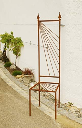 Gartendeko Stuhl Rost Eisen Motiv Sonne Garten Rankhilfe