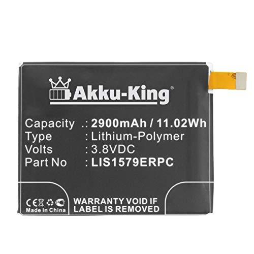 Akku-King Akku kompatibel mit Sony LIS1579ERPC - Li-Polymer 2900mAh - für Xperia C5, C5 Ultra, Z3 Plus, Z3X, Z4, Z4 Compact