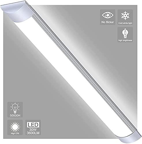 3× LED Feuchtraumleuchte 90cm, 30W...