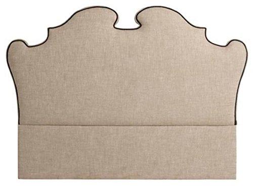 Casa Padrino cabecero de Cama de diseño de Color Beige 200 x H. 144 cm - Calidad