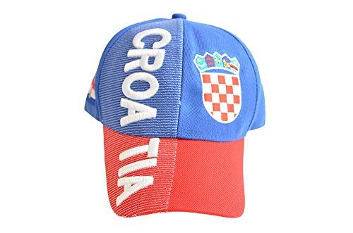 Cap / Kappe Motiv Fahne Kroatien, nation, Flaggenfritze®