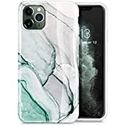 GVIEWIN Marble iPhone 11 Pro Max Case, Slim Thin Glossy Soft TPU Rubber Gel Phone Case Cover Compatible iPhone 11 Pro Max 6.5 Inch 2019 Release