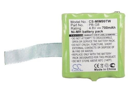 Battery for Reer 5005 5006 Scopi PB-G8 4.8V 700mAh