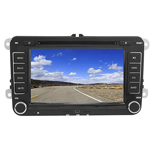 GPS para coche, reproductor de audio y vídeo, navegador de 7 pulgadas y 2Din, GPS, CD, DVD, reproductor multimedia Bluetooth apto para Seat Leon 2 MK2 2005-2011 LHD