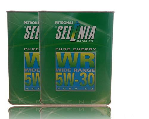 4 Litri Olio motore sintetico SELENIA WR PURE ENERGY SAE 5W30 ACEA C2