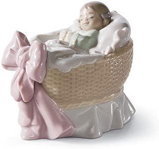 A NEW TREASURE ( GIRL ) Lladro Porcelain