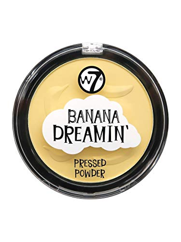W7 | Face Powder | Banana Dreamin' Pressed Powder | Fine Loose Powder | Perfect For All Skin Types