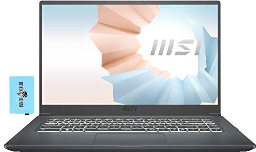 MSI Modern 15 A11M Home and Business Laptop (Intel i7-1165G7 4-Core, 16GB RAM, 512GB SSD, Intel Iris Xe, 15.6