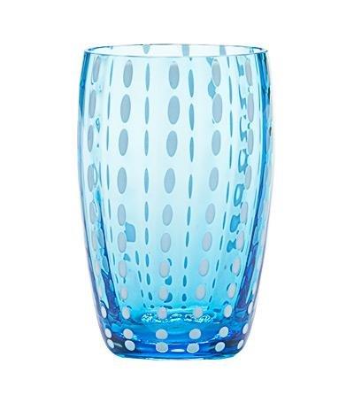 Zafferano–Perle Set 6Gläser Tumbler Wasser Marina