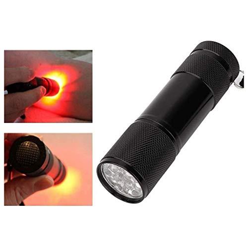 LiRuiPengBJ Buscador de Venas Buscador de Venas de Luz Roja, Visor de Venas Detector de Iluminación de Venas Infrarrojas Vasculares Detector de Venas de Mano Localizador de Venas para Adultos Niños