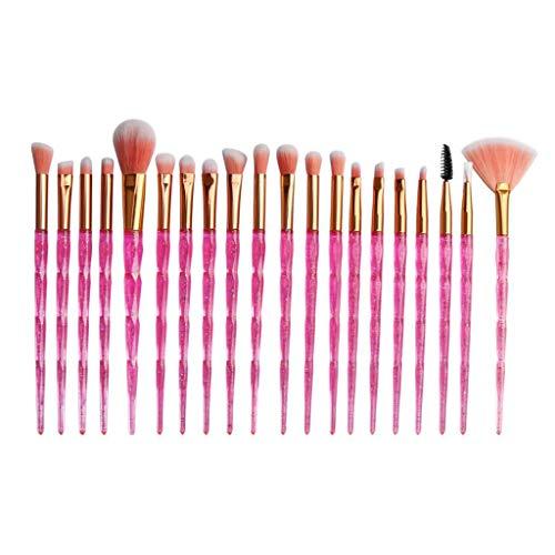 Professional 20 Pièces Maquillage Set de Brosse Maquillage Kit de Toilette Set de Brosse