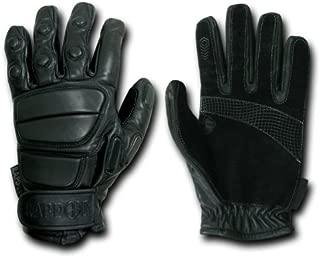 RAPDOM BLACK Hvy Duty Rappelling / Tactical Glove Large