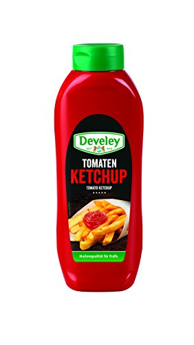 DEVELEY Tomaten Ketchup, 4er Pack (4 x 875 ml)