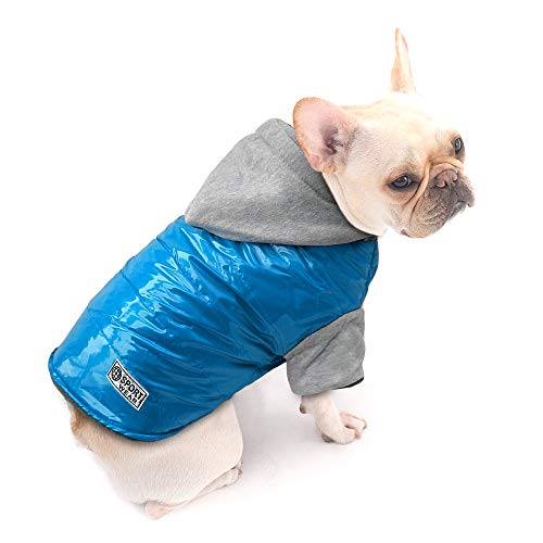 Beirui Dog Doggy Clothes Cold Weather Coat - Waterproof Windproof Dog Jacket - Warm Cotton-Padded Doggie Vest Pets Clothes,Back for 13.5' Large Dogs