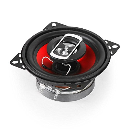 avis haut parleur voiture professionnel auna SBC-4121 – Haut-parleur coaxial 3 voies, paire de haut-parleurs intégrée, maximum.  800 watts…