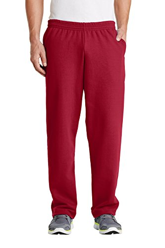 Port & Company® - Core Fleece Sweatpant with Pockets. PC78P Red L