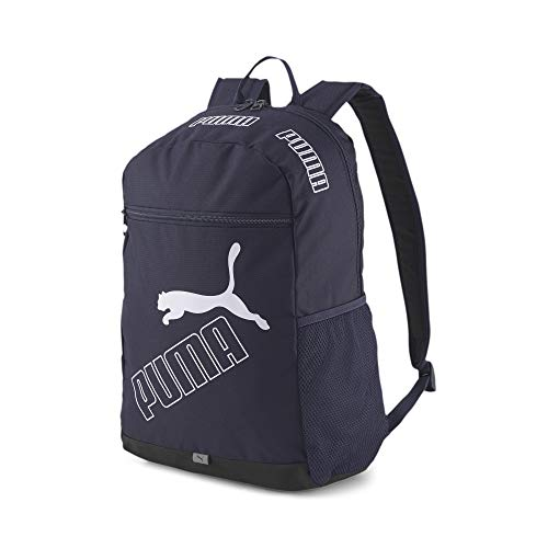 PUMA Phase Backpack, Sac Dos Femme, Noir, Taille Unique