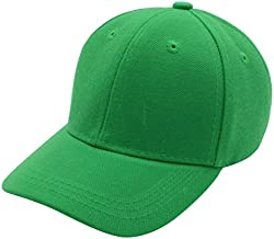 Top Level Baby Infant Baseball Cap Hat - 100% Durable Sturdy Polyester Hat, KGN Kelly Green