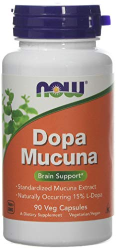 Now Foods Dopa Mucuna, 90 Vegetarian Capsules, 1 Units