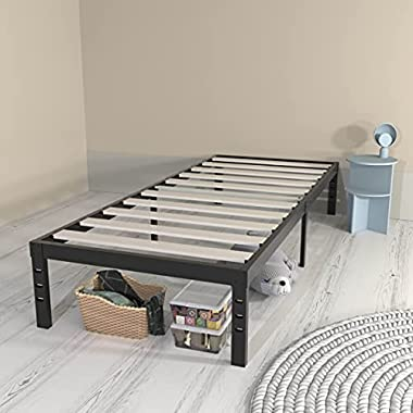 ONEMO 14 Inch Twin Bed Frame, 2000lbs Heavy Duty...