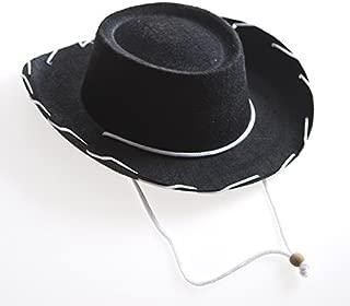 Children's Black Felt Cowboy Hat
