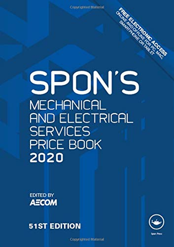 Spon's Mechanical and Electrical Services Price Book 2020 (Spon's Price Books)
