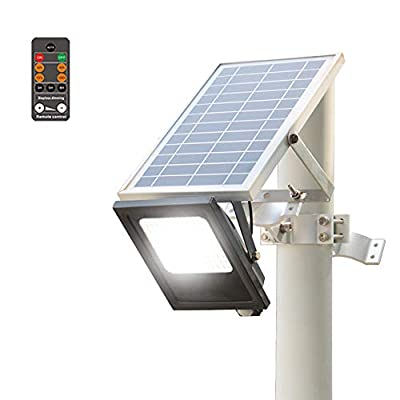 Solar LED Flood Lights Outdoor 120 LEDs 1000 Lumens 15W Pathway with IP65 Waterproof Motion Sensor Auto ON & Off Lighting for LampostGarden Walkway Yard