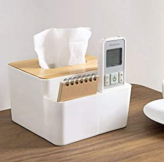 QUIRKY QUACKS - Tissue Box with Bamboo Wood Cover