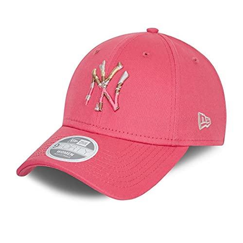 New Era New York Yankees MLB Cap Basecap Kappe Baseball Damen Frau Camouflage Logo pink - One-Size