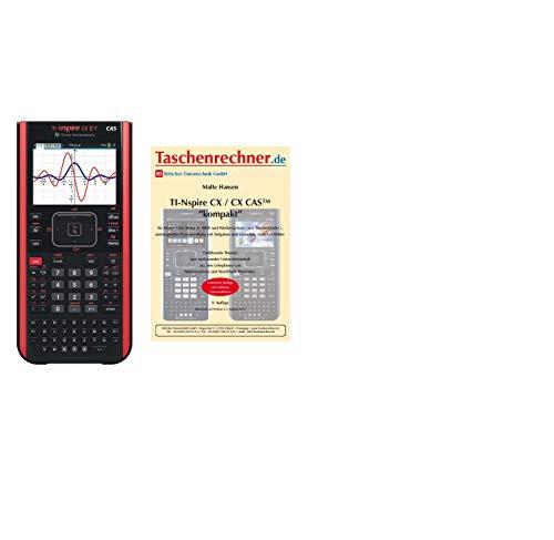 Ti-Nspire CX II-T CAS - Pacchetto primario + Fachbuch + Gewährerweiterung