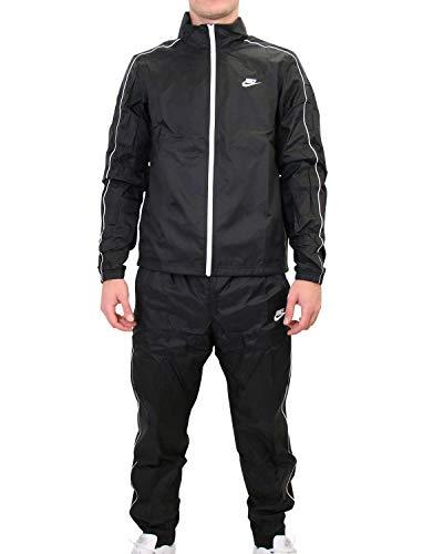Nike Herren NSW CE TRK Suit WVN Basic Trainingsanzug, Black, M