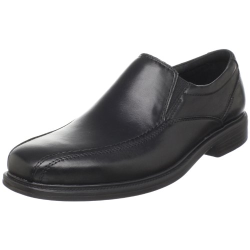 Bostonian mens Bolton loafers shoes, Black Leather, 9 US