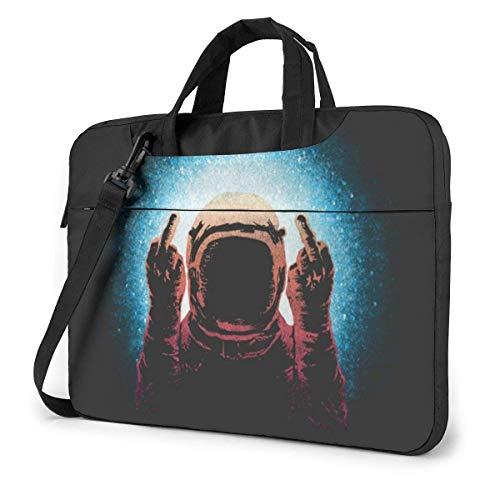 Negative Spaceman Laptop Sleeve Case 14 Inch Computer Tote Bag Shoulder Messenger Briefcase for Business Travel