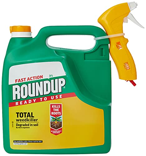 Roundup 19017 Fast Action Weedkiller, Ready to Use, Manual Spray 3 Litre,...